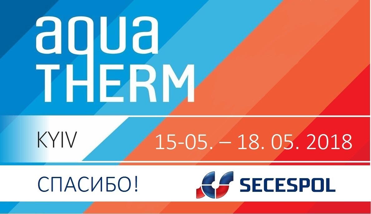 SECESPOL на AQUATHERM в Киеве