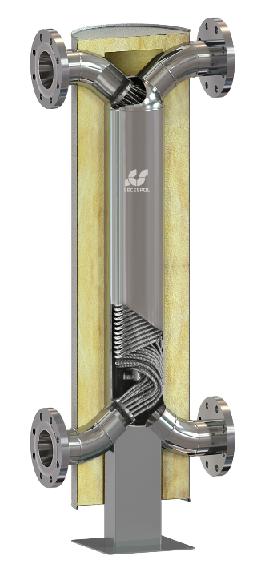 Кожухотрубный теплообменник Secespol HAD SBX 5.38