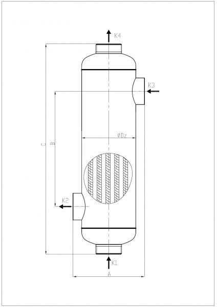 Кожухотрубный теплообменник Secespol TI TYPE TI500