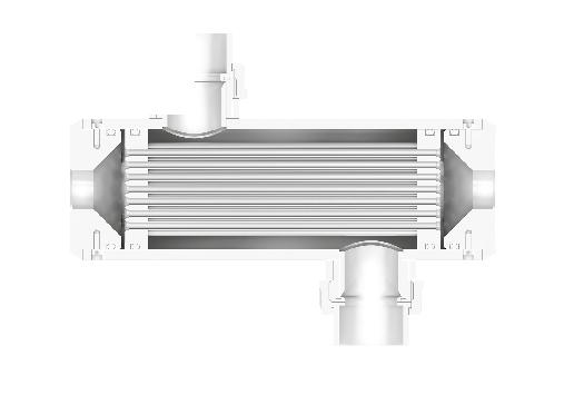 Кожухотрубный теплообменник Secespol B-line TYPE B500
