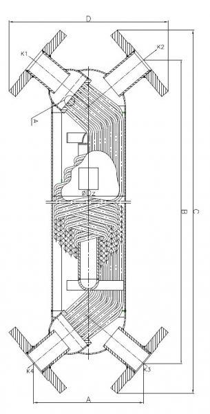 Кожухотрубный теплообменник Secespol S0 X FF.PRO.SS